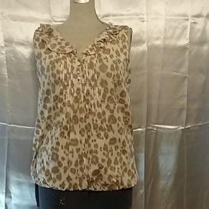 Ann Taylor Loft blouse size M